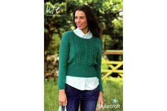Stylecraft 9026 Life DK (leaflet) Womens Sweater