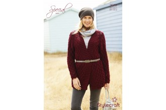 Stylecraft 9073 Special Aran Jacket (leaflet)