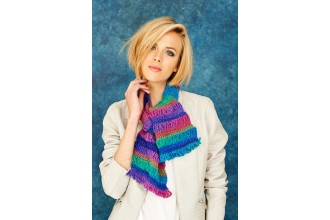 Stylecraft 9187 Scarf and Shawl in Cabaret DK (downloadable PDF)