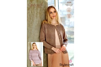 Stylecraft 9396 Cardigan and Sweater in Special DK (leaflet)