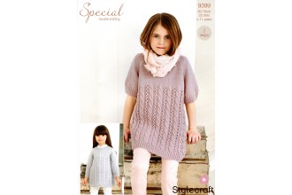 Stylecraft 9399 Dress and Tunic in Special DK (downloadable PDF)