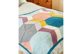 Stylecraft 9449 Blanket in Special DK (downloadable PDF)