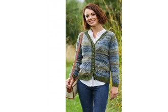 Stylecraft 9461 Sweater and Cardigan in Life Vintage Look DK & Life DK (downloadable PDF)