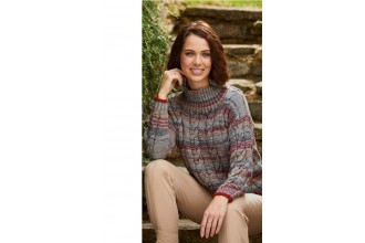Stylecraft 9462 Sweater and Tunic in Life Vintage Look DK & Life DK (downloadable PDF)