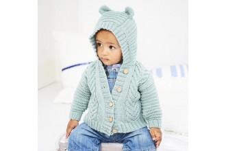 Stylecraft 9605 Jackets in Bambino DK (leaflet)