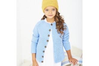 Stylecraft 9610 Crochet Cardigan and Hat in Bambino DK (leaflet)