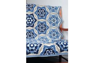 Janie Crow - Delft Blanket - Stylecraft Life DK (leaflet)