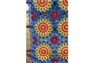 Janie Crow - Fields of Gold Crochet Blanket in Stylecraft Life DK (leaflet)