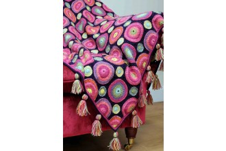 Janie Crow - Magic Circles Crochet Blanket in Stylecraft Life DK & Batik DK (leaflet)
