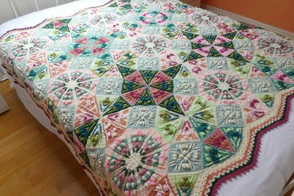 Catherine Bligh - Kaleidoscope Blanket CAL - Old Rose (Stylecraft Yarn Pack)