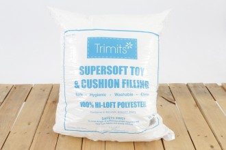 Trimits 100% Hi-Loft Polyester Supersoft Toy and Cushion Filling (250g)
