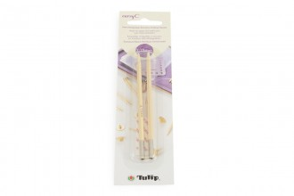 Tulip CarryC Interchangeable Circular Knitting Needle Shanks - Bamboo (3.75mm)