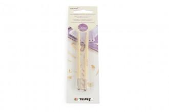 Tulip CarryC Interchangeable Circular Knitting Needle Shanks - Bamboo (4.00mm)