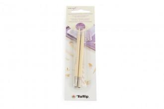 Tulip CarryC Interchangeable Circular Knitting Needle Shanks - Bamboo (5.00mm)