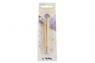 Tulip CarryC Interchangeable Circular Knitting Needle Shanks - Bamboo (5.50mm)