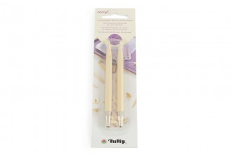 Tulip CarryC Interchangeable Circular Knitting Needle Shanks - Bamboo (6.50mm)