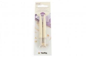 Tulip CarryC Interchangeable Circular Knitting Needle Shanks - Bamboo (8.00mm)
