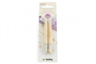 Tulip CarryC Interchangeable Circular Knitting Needle Shanks - Bamboo (9.00mm)