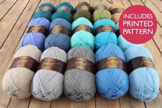 Attic24 - Coast Blanket (Stylecraft Yarn Pack)