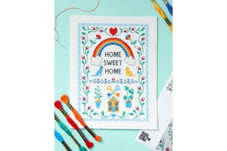 Wool & The Gang - Home Sweet Home (Cross Stitch Kit)