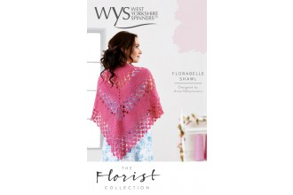 West Yorkshire Spinners - The Florist Collection - Florabelle Crochet Shawl in Signature 4 Ply (leaflet)