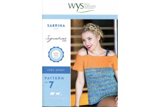 West Yorkshire Spinners - Sabrina Top in Signature 4 Ply (leaflet)