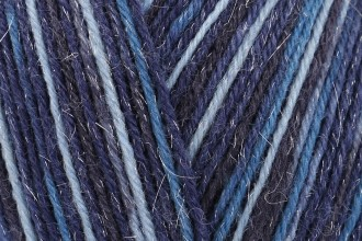 West Yorkshire Spinners Signature 4 Ply Sparkle - Silent Night (906) - 100g