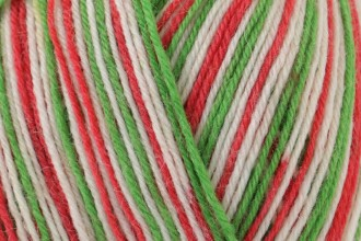 West Yorkshire Spinners Signature 4 Ply - Candy Cane (989) - 100g