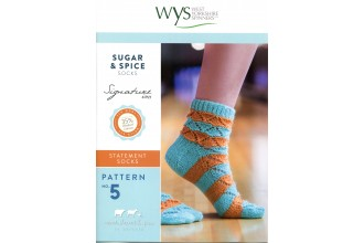 West Yorkshire Spinners - Sugar & Spice Socks in Signature 4 Ply (leaflet)