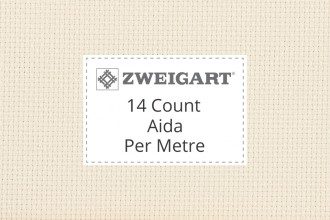 Zweigart Aida - 14 Count - Per Metre