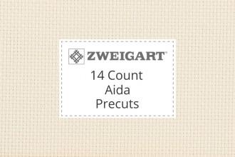 Zweigart Aida - 14 Count - Precuts