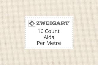Zweigart Aida - 16 Count - Per Metre