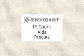 Zweigart Aida - 16 Count - Precuts