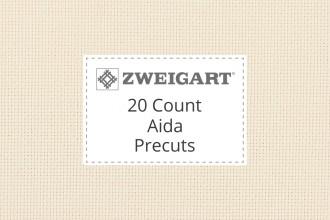 Zweigart Aida - 20 Count (Extra Fine) - Precuts
