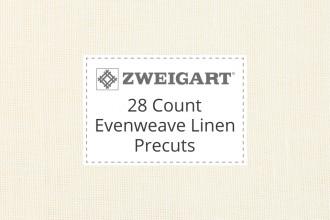 Zweigart Evenweave Linen - 28 Count (Cashel) - Precuts