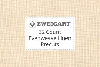 Zweigart Evenweave Linen - 32 Count (Belfast) - Precuts
