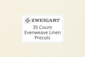 Zweigart Evenweave Linen - 35 Count (Edinburgh) - Precuts