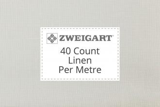 Zweigart Evenweave Linen - 40 Count (Newcastle) - Per Metre