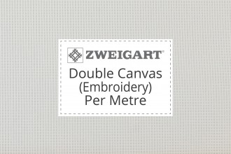 Zweigart Double Canvas (Embroidery/Penelope) - Per Metre