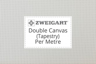 Zweigart Double Canvas (Tapestry) - Per Metre