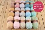 Attic24 - Dune Blanket (Stylecraft Yarn Pack)