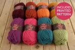 Attic24 - Weekend Bag - Heatwave (Stylecraft Yarn Pack)