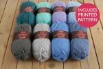 Attic24 - Weekend Bag - Seaspray (Stylecraft Yarn Pack)