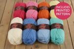 Attic24 - Weekend Bag - Springtime (Stylecraft Yarn Pack)