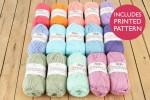 Attic24 - Summer Blanket (King Cole Yarn Pack)