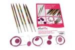 KnitPro Interchangeable Needles - Symfonie Wood - Starter Set
