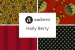 Andover Fabrics - Holly Berry Collection