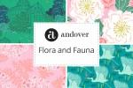 Andover Fabrics - Flora and Fauna Collection