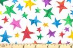 Andover Fabrics - The Very Hungry Caterpillar - Multi Stars (7673/X)