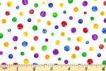 Andover Fabrics - The Very Hungry Caterpillar - Multi Spot (7674/X)